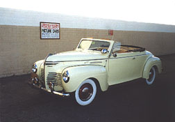 1940 Plymouth Convertible Coupe, Yellow
