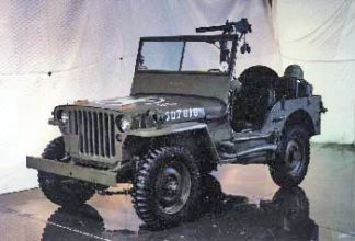 1941 Willys Army Jeep, Olive