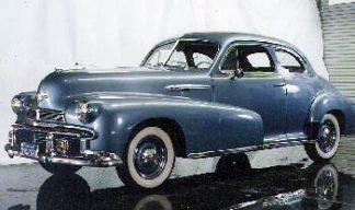 1942 Oldsmobile Club Coupe 2-door