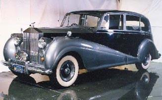 1952 Series Rolls-Royce Limousine