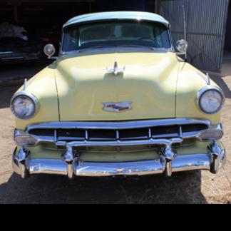 1954 Chevy Deluxe, Yellow