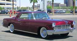 1956 Lincoln Continental, Maroon