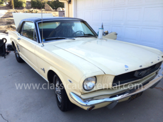 1966 Ford Mustang, Yellow