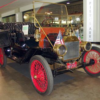 1909 Ford Model T 4-Door Convertible