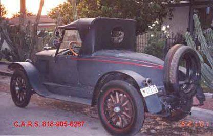 1919 Essex Boattail - Blue and Black