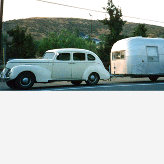 1939 Hudson 1955 Airstream
