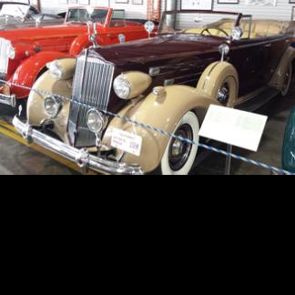 1935 Packard 4-door convertible