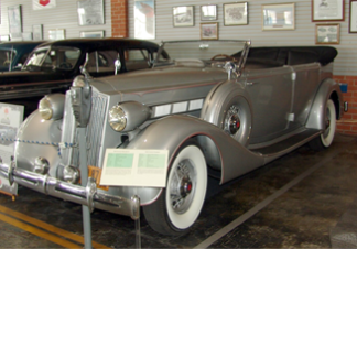 1936 Packard 4dr Convertible, J Stalin