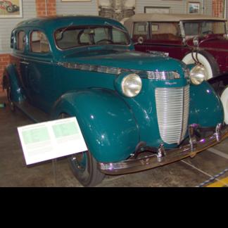 1937 Chrysler Royal Sedan, Turquoise