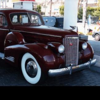 1938 Cadillac Sedan - Maroon, 4 door