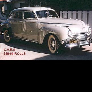 1941 Chrysler, Windsor 4-door Sedan, Grey