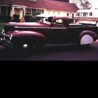 1946 Hudson Pick-up, Maroon