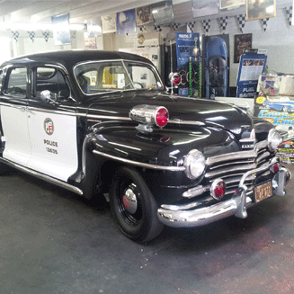 1947 Plymouth Police Vehicle