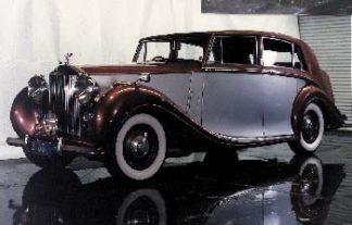 1946 - 1955 Series Rolls-Royce Limousine (1949) 4-door