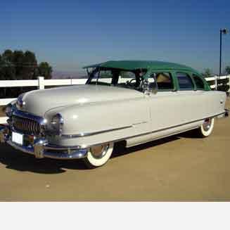 1951 Nash Ambassador, 4-door Sedan