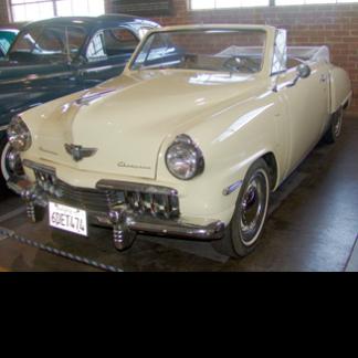 1951 Studebaker Convertible