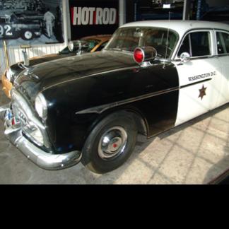 1953 Packard Police Car