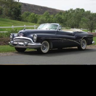 1954 Buick Skylark Convertible, Black