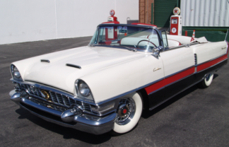 1955 Packard Convertible, Red and White