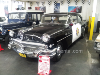 1956 Buick Special Police Car