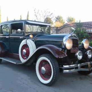 1929 Hudson Sedan - Green and Coffee