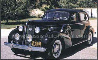 1937 Buick 4 door Sedan, Black