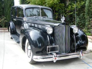 1938 Packard, Chauffeured