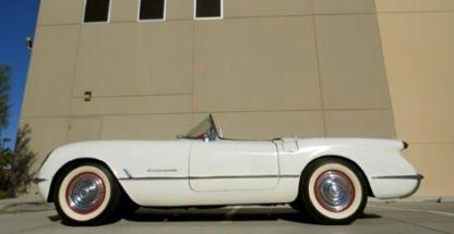1954 Chevrolet Corvette White