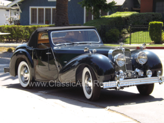 1947 Triumph Convertible with Jumpseat