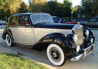 1953 Bentley R Type, 4-door Black and Silver