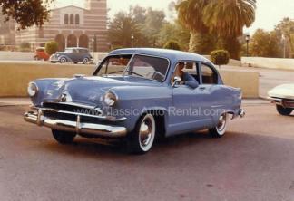 1953 Henry J. Corsar 2-door Coupe, Blue