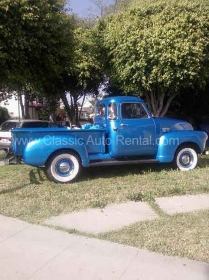 1954 Chevy Pick-up Truck, Blue