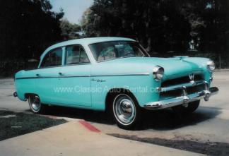 1954 Willys Aero, 4-door Sedan, Blue