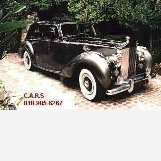 1954 Rolls-Royce Silver Dawn, Grey and Black