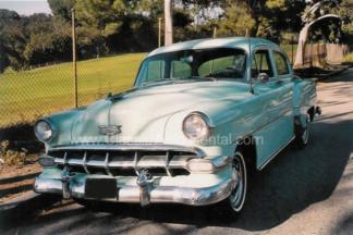 1954 Chevy Club Sedan Green