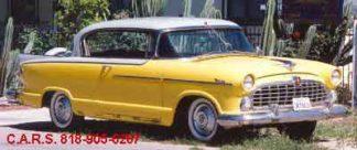 1955 Hudson Hollywood, 2-door, Yellow