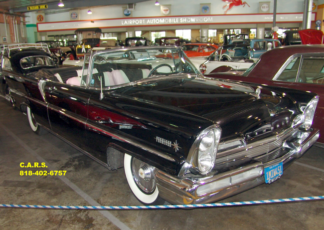 1957 Lincoln Convertible