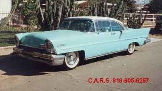 1957 Lincoln Premiere, 2-door, Blue