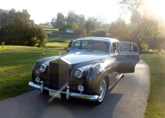 1957 Rolls-Royce Silver Cloud, Silver over Grey