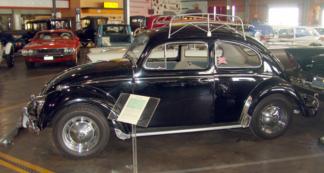 1957 VW Bug Black