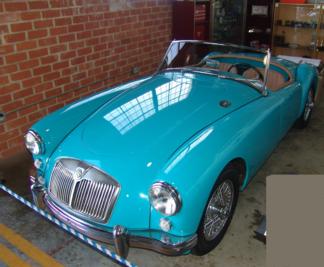 1959 MG, Blue