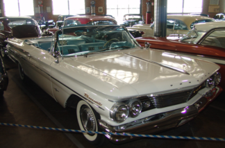 1960 Pontiac Convertible White