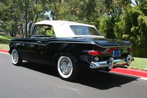 1960 Studebaker Lark Convertible Black