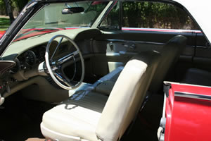 1962 Ford Thunderbird Convertible, Red