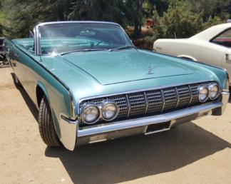 1963 Lincoln Convertible