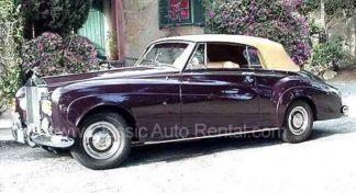 1963 Rolls Royce Silver Cloud III Convertible - Garnet Colored