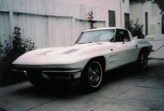 1963 Corvette Split WIndow Coupe White