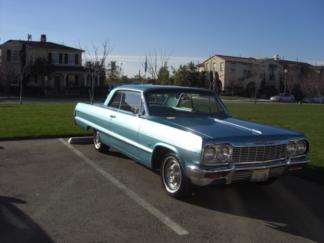 1964 Chevy Impala Aqua