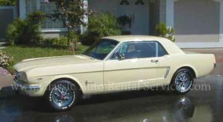 1965 Mustang Coupe, Yellow