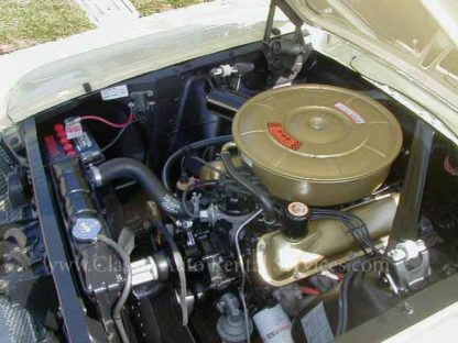 1965 Mustang Coupe, Yellow engine